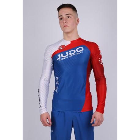 Atletický - běžecký dres přiléhavý s dlouhými rukávy, dámský