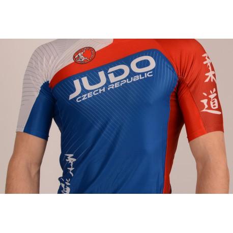 atletický dres přiléhavý, krátké rukávy